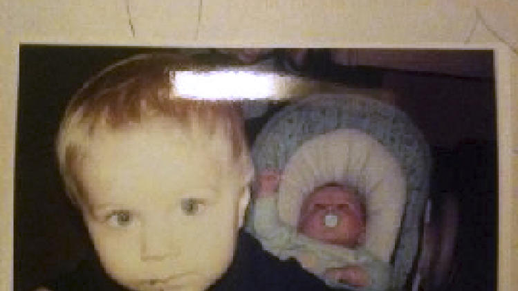 FILE - This file photo released by the Connecticut State Police Feb. 26, 2013, during an Amber Alert shows Alton Perry, left, 2, and Ashton Perry, right, 6 months old, who were taken from their daycare by their grandmother. Debra Denison, 47, who shot and killed her two young grandsons before committing suicide last year left a note to the boys' parents saying they did not deserve to have the children. The letter described in a police report suggests a vengeful motive for the shootings by Denison. The report was obtained by The Associated Press through a Freedom of Information request. (AP Photo/Connecticut State Police, File)