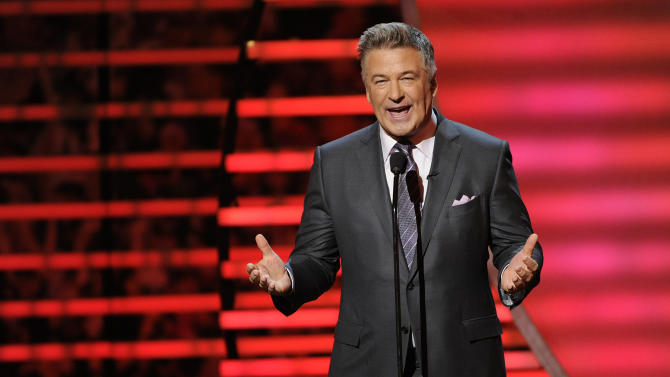 Actor Alec Baldwin hosts the 3rd annual NFL Honors at Radio City Music Hall on Saturday, Feb. 1, 2014, in New York. (Photo by Evan Agostini/Invision for NFL/AP Images)