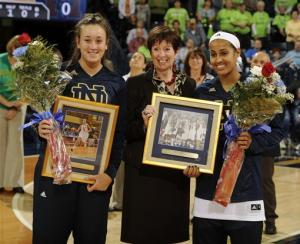 Achonwa leads No. 5 Irish women to rout of Mercer