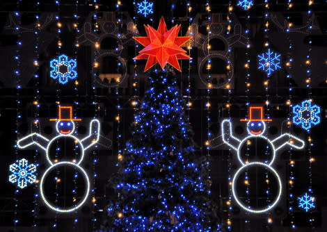 Three Amazing Light Shows in Philadelphia Light Up the Holiday Season