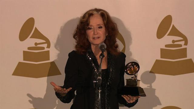 Bonnie Raitt - Backstage Press Room