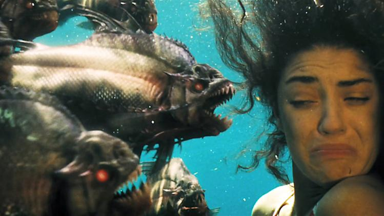 Piranha 3D Production Photos Weinstein Company 2010 Jessica Szohr