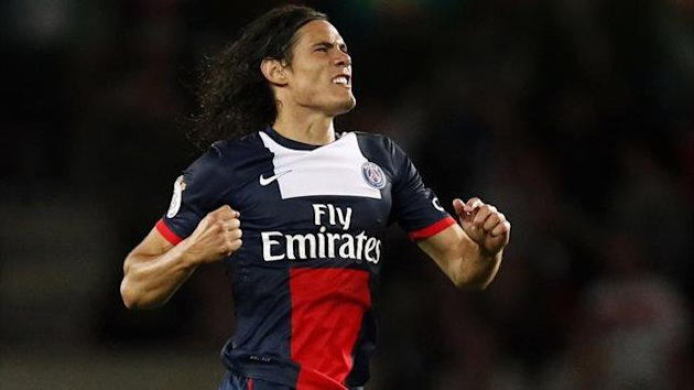Paris Saint-Germain's Edinson Cavani (Reuters)