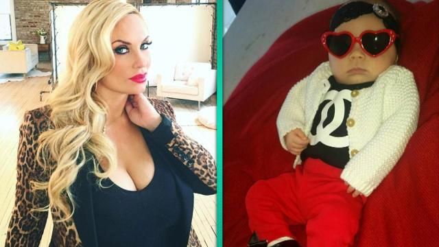 Coco Austin's Newborn Daughter Chanel Is Stylin' in 'Baby Louboutins'