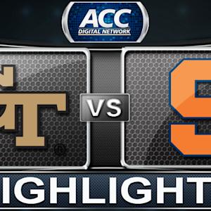 Georgia Tech vs Syracuse | 2014 ACC Basketball Highlights