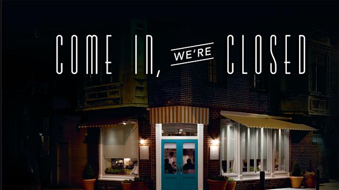 "This book cover image released by Running press shows ""Come In, We're Closed: An Invitation to Staff Meals at the World's Best Restaurants,"" by Christine Carroll and Jody Eddy. The book contains recipes fit for many based on the good eats for the ""families"" of a variety around the country. It includes staff meals from wd-50 in New York, Ad Hoc, in Yountville, Calif., Cochon in New Orleans and Mugaritz in Spain. (AP Photo/Running Press)"
