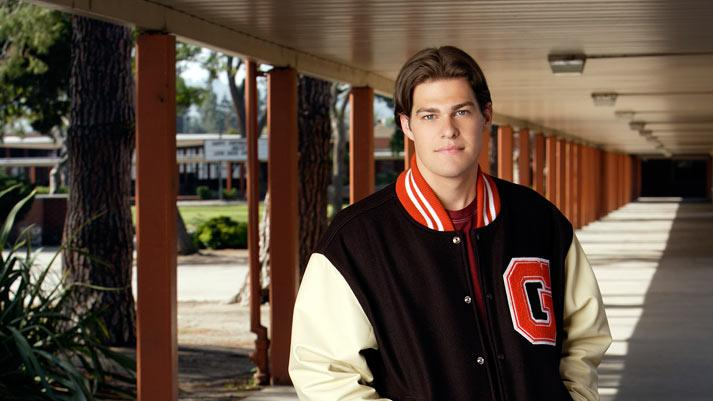 "Greg Finley as ""Jack"" stars in ""The Secret Life Of The American Teenager""."
