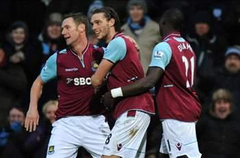 West Ham 1-0 Swansea: Carroll eases the pressure on Allardyce