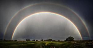 Amazing Photo: Double Rainbow Over Wyoming