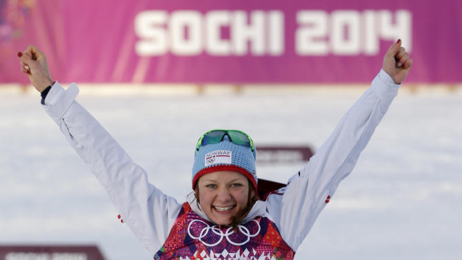 Norway wins double gold in cross-country sprints