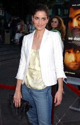 Amanda Peet at the Hollywood premiere of Warner Independent Pictures' We Don't Live Here Anymore