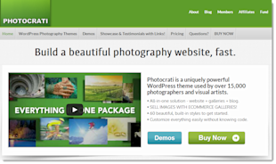 10 Best Wordpress Themes in 2013 for Photographers image Photocrati5