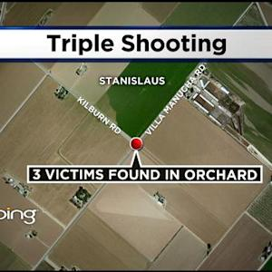 Detectives Investigating Triple Shooting Near Crows Landing