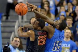 USC downs UCLA in OT 75-71