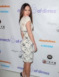 Megan Fox arrives at the March Of Dimes' Celebration Of Babies held at the Beverly Hills Hotel in Beverly Hills on December 7, 2012 -- Getty Images