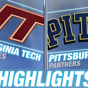Virginia Tech vs Pittsburgh | 2015 ACC Women's Tournament Highlights