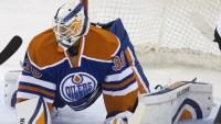 Oilers place Scrivens on waivers
