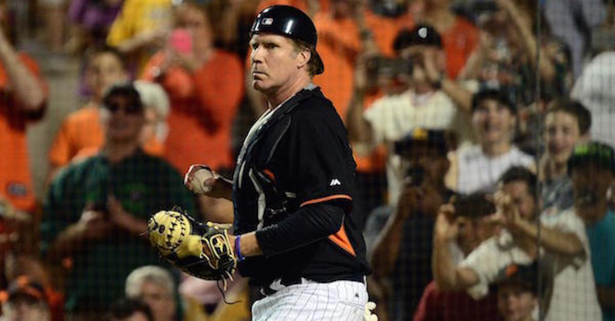 15 Epic Pics of Will Ferrell Playing on MLB Teams