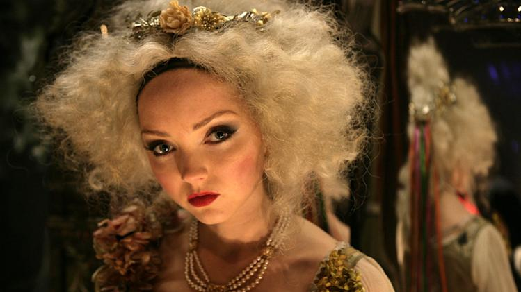 Lily Cole The Imaginarium of Doctor Parnassus Production Stills 2009
