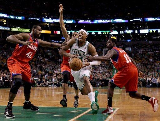 Philadelphia 76ers took two of three games from the Boston Celtics during the regular season