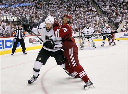 Kings top Coyotes 4-0 to go up 2-0 in series