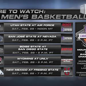Where to Watch MW Men's Basketball 2/28/15
