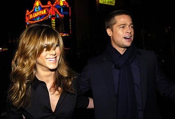 Premiere: Jennifer Aniston and Brad Pitt at the LA premiere of Universal's Along Came Polly - 1/12/2004 