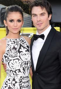 Nina Dobrev, Ian Somerhalder | Photo Credits: Jamie McCarthy/Getty Images