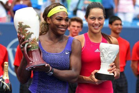 Tennis: Western and Southern Open-Williams vs Ivanovic