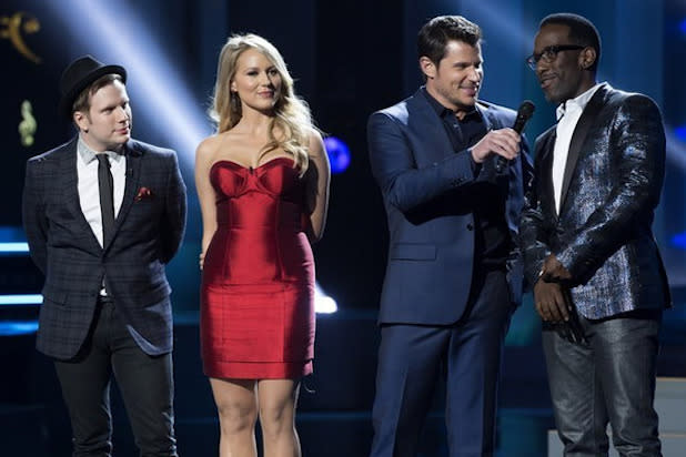 'Sing-Off' Host Nick Lachey Says Show Gives Groups 'Platform I Was Fortunate to Have'