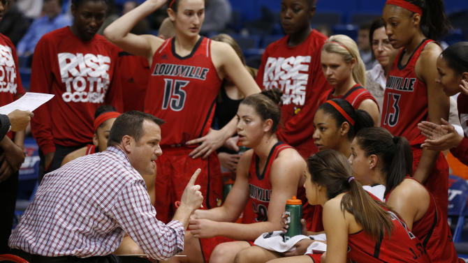 NCAA Womens Basketball: Big East Tournament-Semis-Notre Dame vs Louisville