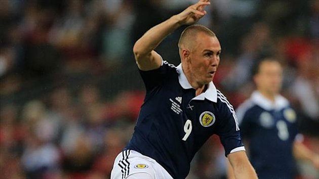 Kenny Miller scored at Wembley on his final appearance for Scotland