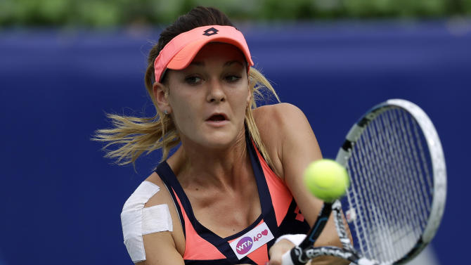Radwanska reaches semifinals at Korea Open