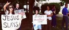 This Couple Spends Their Free Time Mocking Abortion Protesters