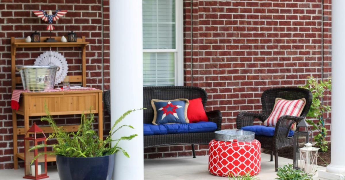 Americana Appeal Provided by Pier 1 Imports