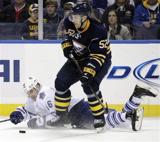 Roy caps Sabres' comeback in 6-5 OT win over Leafs