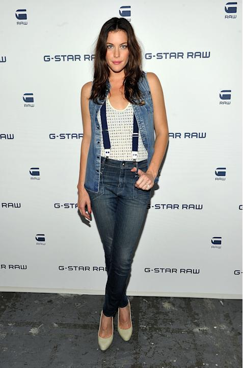 Liv Tyler at G-Star
