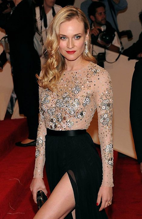 Diane Kruger TheMET Gala