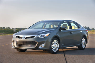 Toyota Features Hybrid Family of Vehicles at Fort Lauderdale International Auto Show (Pictured:2014 Avalon Hybrid)