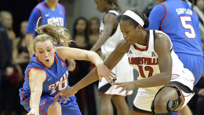 Schimmel leads No. 7 Louisville women past SMU