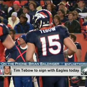 NFL Media's Brian Baldinger: I think Tim Tebow will make the team