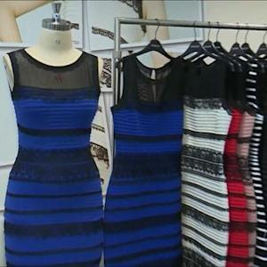 White and gold? Or blue and black?