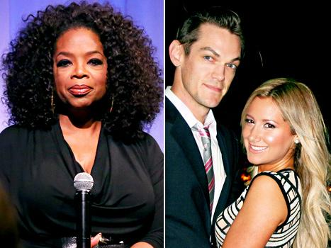 Oprah Winfrey Accuses Trois Pommes Clerk of Discrimination, Ashley Tisdale Engaged to Christopher French: Top 5 Stories