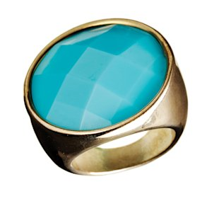Blue Elle Hardware ring, Jan 13, p34