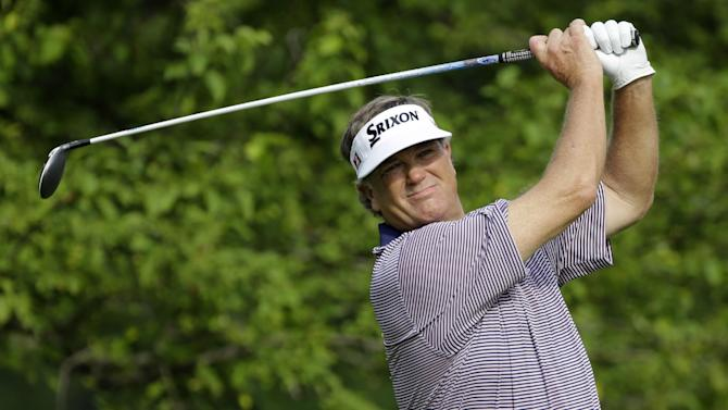 Haas, Jacobsen lead Legends of Golf