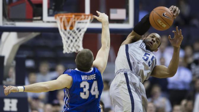 Georgetown beats No. 13 Creighton 75-63