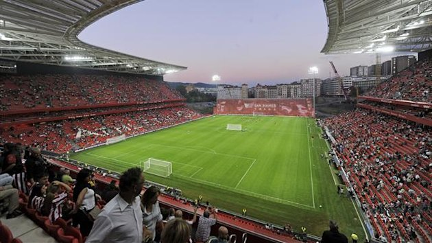 Athletic Bilbao's new San Mames stadium (Reuters)