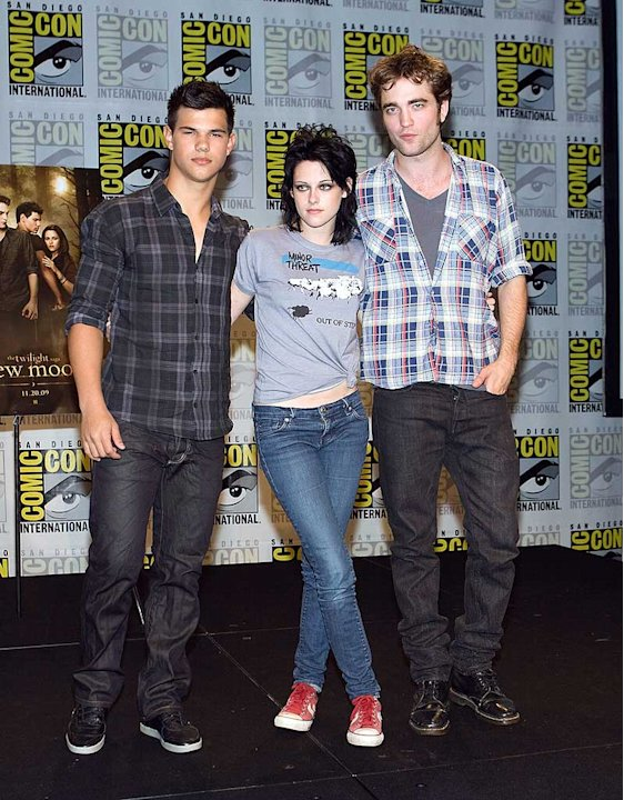 Lautner Stewart Pattinson Comic Con