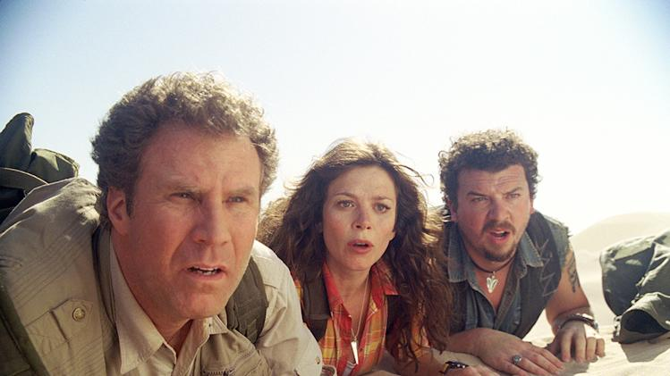 Land of the Lost Universal Pictures Production Photos 2009 Will Ferrell Anna Friel Danny McBride