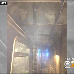 Massive Drill Bit Comes Inches From Punching Through Subway Car